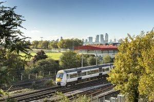 Train Into London From Basildon